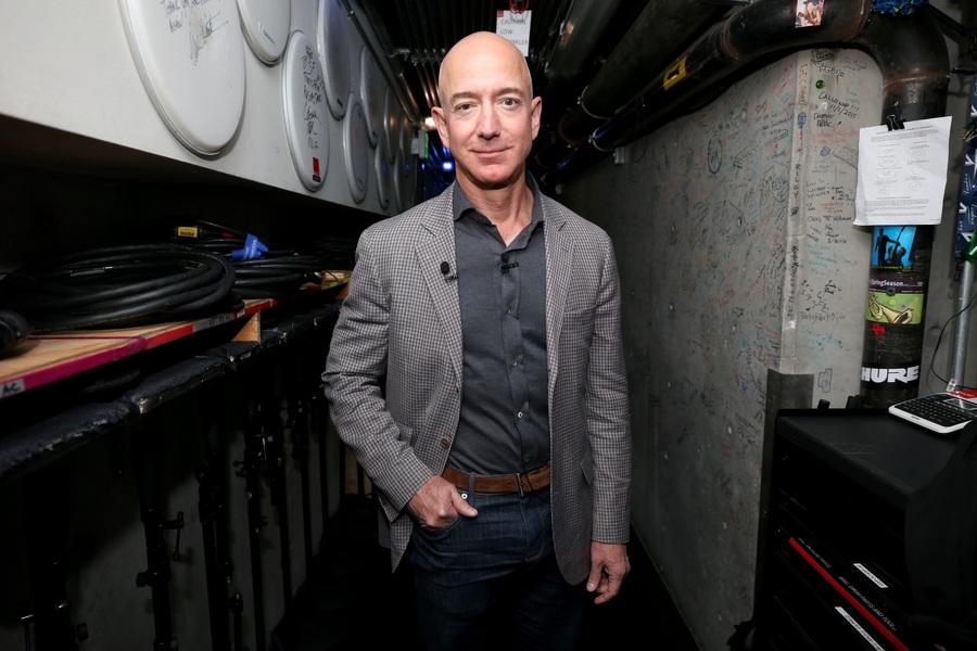 El patrimonio neto de Jeff Bezos