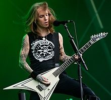 220px Alexi Laiho performing with Children of Bodom at the Rockharz Open Air 2016 9 July 2016