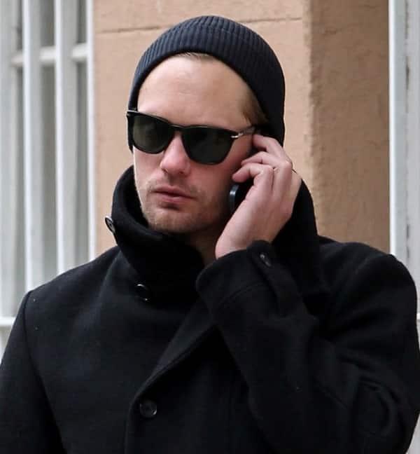 Llamadas telefónicas de Alexander Skarsgard
